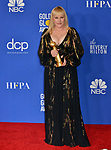 a_Patricia Arquette  poses in the press room with awards at the 77th Annual Golden Globe Awards at The Beverly Hilton Hotel on January 05, 2020 in Beverly Hills, California.