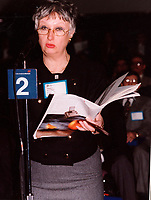 Montreal (Qc) CANADA -  April 1992 File Photo - Andree Boucher, Mayor of Sainte-Foy