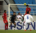 Singapore vs Myanmar during their AFF Suzuki Cup 2010 Group B match at My Dinh National Stadium on 05 December 2008, in Hanoi, Vietnam. Photo by Stringer / Lagardere Sports