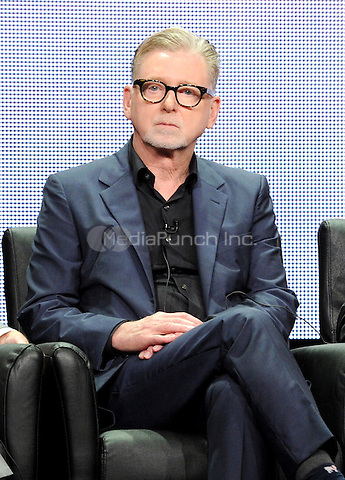 2015 FX SUMMER TCA: (L-R) FARGO Executive Producer Warren Littlefield during FARGO panel at the 2015 FX SUMMER TCA on Friday, Aug. 7 at the Beverly Hilton Hotel in Beverly Hills, CA. Credit: PGFM/MediaPunch)
