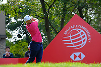 Erik Van Rooyen (RSA) on the 18th tee during the 1st round at the WGC HSBC Champions 2018, Sheshan Golf CLub, Shanghai, China. 25/10/2018.<br /> Picture Phil Inglis / Golffile.ie<br /> <br /> All photo usage must carry mandatory copyright credit (&copy; Golffile | Phil Inglis)