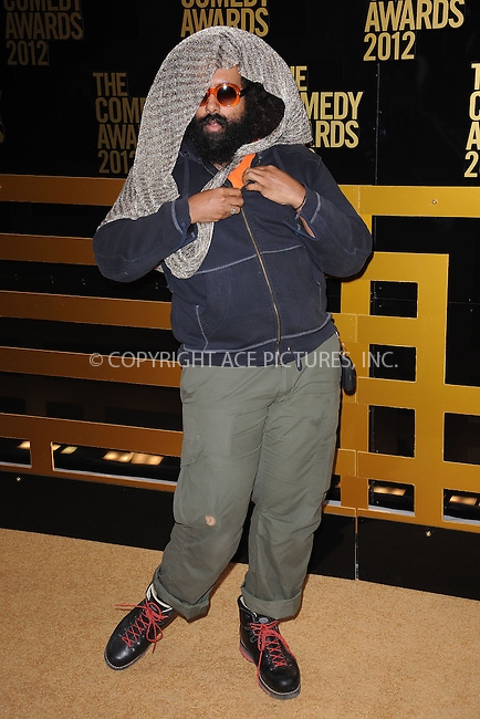 WWW.ACEPIXS.COM . . . . . .April 28, 2012...New York City....Reggie Watts attends The Comedy Awards 2012 at Hammerstein Ballroom on April 28, 2012  in New York City ....Please byline: KRISTIN CALLAHAN - ACEPIXS.COM.. . . . . . ..Ace Pictures, Inc: ..tel: (212) 243 8787 or (646) 769 0430..e-mail: info@acepixs.com..web: http://www.acepixs.com .
