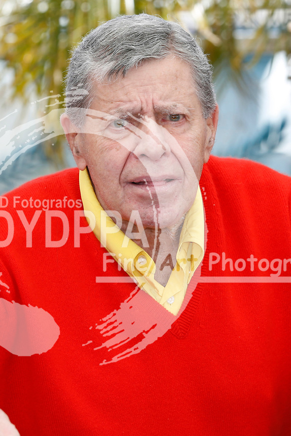Jerry Lewis beim Photocall zu 'Max Rose'. Festival de Cannes 2013 / 66. Internationale Filmfestspiele von Cannes / 66th Annual Cannes Film Festival, 23.05.2013