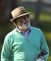 160213 Actor Andy Garcia during Saturday's Third Round of The AT&T National Pro Am at The Spyglass Hill Golf Club in Carmel, California. (photo credit : kenneth e. dennis/kendennisphoto.com)