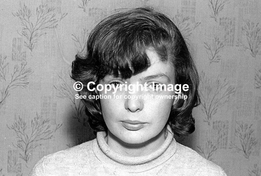 Janet Wilcock, NILP candidate, Londonderry by-election, March 1968, 196803000106<br />