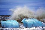 Ice & Waves On The Arctic Ocean