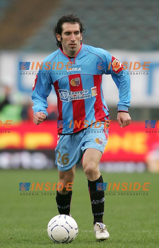 Fabio Caserta (Catania)<br /> 28 Feb 2007 (Match Day 26)<br /> Lazio-Catania (3-1)<br /> &quot;Olimpico&quot;-Stadium-Roma-Italy<br /> Photographer: Andrea Staccioli INSIDE