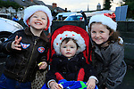 Darragh Ruagh and Sheena Calvey at the Drogheda Christmas Bonanza santa parade<br /> Picture: Fran Caffrey www.newsfile.ie