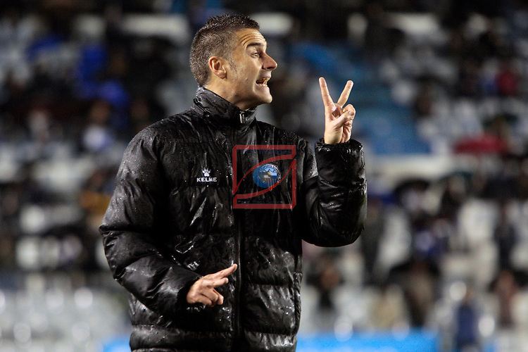 League Adelante 2012/2013 - Game: 22.<br /> CE Sabadell vs Girona: 4-1.<br /> Lluis Carreras.