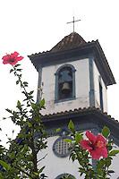 Santa Barbara_MG, Brasil...Torre da igreja de Nossa Senhora do Rosario em Santa Barbara...The bell tower of Nossa Senhora do Rosario church in Santa Barbara...Foto: LEO DRUMOND / NITRO
