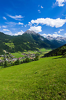 Oesterreich, Salzburger Land, Pongau, Kleinarl: Hauptort des Kleinarltals am Rande des Nationalparks Hohe Tauern | Austria, Salzburger Land, region Pongau, Kleinarl: main village at valley Kleinarltal adjacent to the National Park Hohe Tauern