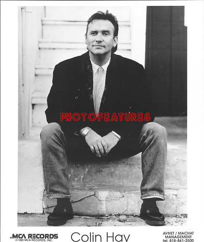 Colin Hay 1990..photo from promoarchive.com/ Photofeatures....