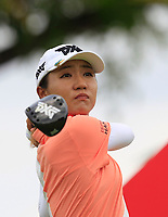 Lydia Ko (NZL) in action on the 12th during Round 1 of the HSBC Womens Champions 2018 at Sentosa Golf Club on the Thursday 1st March 2018.<br /> Picture:  Thos Caffrey / www.golffile.ie<br /> <br /> All photo usage must carry mandatory copyright credit (&copy; Golffile | Thos Caffrey)