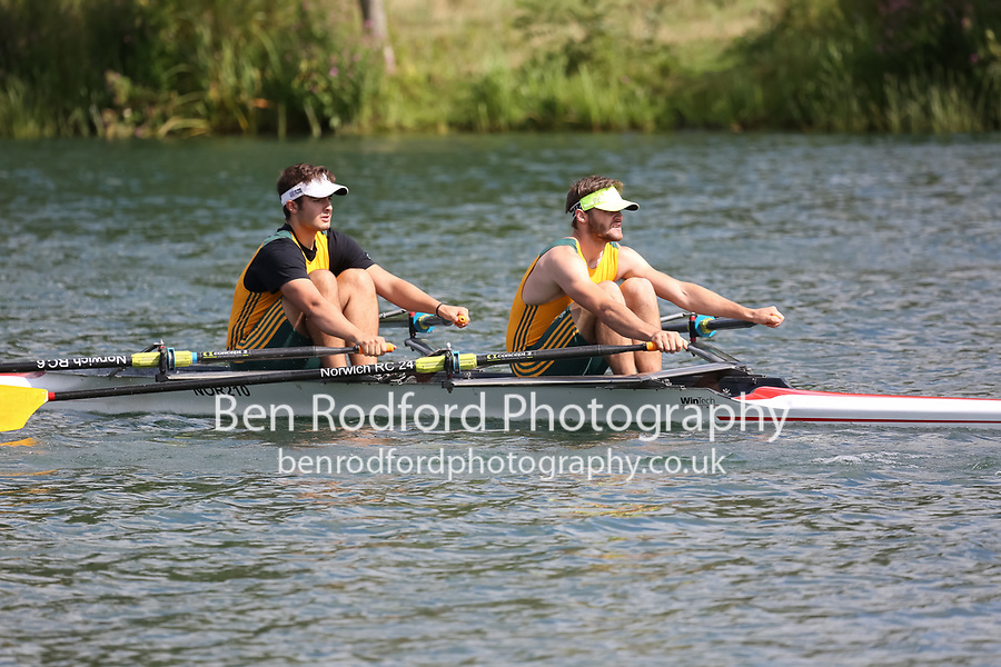 Race: 123: Tier2 2x  Heat 1<br /> <br /> Peterborough Summer Regatta 2017 - Sunday<br /> <br /> To purchase this photo, or to see pricing information for Prints and Downloads, click the blue 'Add to Cart' button at the top-right of the page.