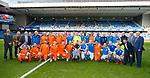 24.3.2018: Rangers legends match:<br /> Rangers legends line up