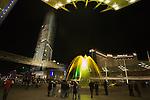 LAS VEGAS - DECEMBER 16: Fireworks explode during the grand opening of the Aria Resort & Casino at CityCenter December 16, 2009 in Las Vegas, Nevada.