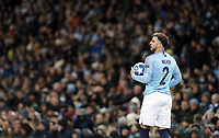 Manchester City's Kyle Walker<br /> <br /> Photographer Rich Linley/CameraSport<br /> <br /> UEFA Champions League Group F - Manchester City v TSG 1899 Hoffenheim - Wednesday 12th December 2018 - The Etihad - Manchester<br />  <br /> World Copyright © 2018 CameraSport. All rights reserved. 43 Linden Ave. Countesthorpe. Leicester. England. LE8 5PG - Tel: +44 (0) 116 277 4147 - admin@camerasport.com - www.camerasport.com