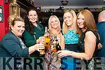 Ringing 2017: Ringing in the New Year at the Saddle Bar, Listowel were Ashley Sabourin-Burke, Gillian Hennerbury, Deidre McCarthy, Sarah Molyneaux & Geraldine O'Connor.
