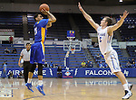 January 2, 2016 - Colorado Springs, Colorado, U.S. -  San Jose State guard, Jalen James #21, in action during an NCAA basketball game between the San Jose State Spartans and the Air Force Academy Falcons at Clune Arena, U.S. Air Force Academy, Colorado Springs, Colorado.  Air Force defeats San Jose State 64-57.