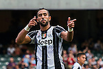 Juventus' player Medhi Benatia celebrates after scoring during the South China vs Juventus match of the AET International Challenge Cup on 30 July 2016 at Hong Kong Stadium, in Hong Kong, China.  Photo by Marcio Machado / Power Sport Images