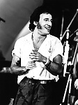 Bruce Springsteen 1981 at Survival Sunday at the Hollywood Bowl..© Chris Walter..
