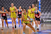 Central Manawa&rsquo;s Monalisa Groom in action during the Beko Netball League - Central Manawa v Hellers Mainland at Fly Palmy Arena, Palmerston North, New Zealand on Sunday 10 March 2019. <br /> Photo by Masanori Udagawa. <br /> www.photowellington.photoshelter.com
