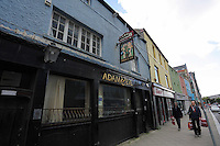 WORDS BY KARL WEST<br /> Pictured: The now closed down Adam and Eve pub Friday 30 September 2016<br /> Re: The regeneration of the High Street in Swansea, Wales, UK