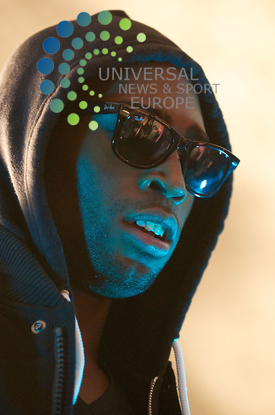 Tinie Tempah at the Potterrow, Edinburgh.  Picture: Bob Mather/Universal News And Sport (Scotland) 15 October 2010.