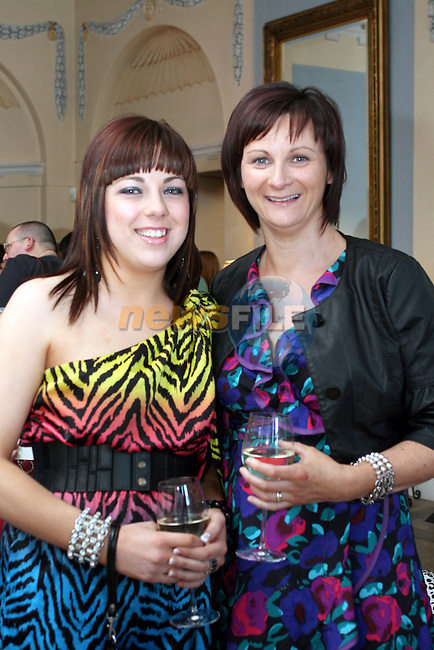 Aisling and Carmel Moore at the Fashion Show in Slane Castle in aid of Stackallen Tennis and Pitch and Putt Club and supporting Action Breast Cancer...Photo NEWSFILE/Jenny Matthews.(Photo credit should read Jenny Matthews/NEWSFILE)....This Picture has been sent you under the condtions enclosed by:.Newsfile Ltd..The Studio,.Millmount Abbey,.Drogheda,.Co Meath..Ireland..Tel: +353(0)41-9871240.Fax: +353(0)41-9871260.GSM: +353(0)86-2500958.email: pictures@newsfile.ie.www.newsfile.ie.FTP: 193.120.102.198.