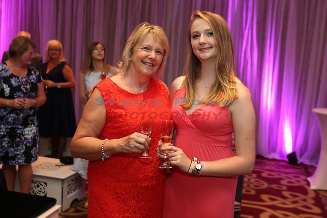 Celebrity Cup Gala Dinner 2016<br /> Celtic Manor Resort<br /> 09.07.16<br /> &copy;Steve Pope Fotowales