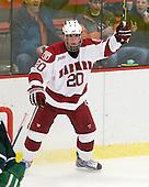 Louis Leblanc (Harvard - 20) - The Harvard University Crimson defeated the Dartmouth College Big Green 4-1 (EN) on Monday, January 18, 2010, at Bright Hockey Center in Cambridge, Massachusetts.