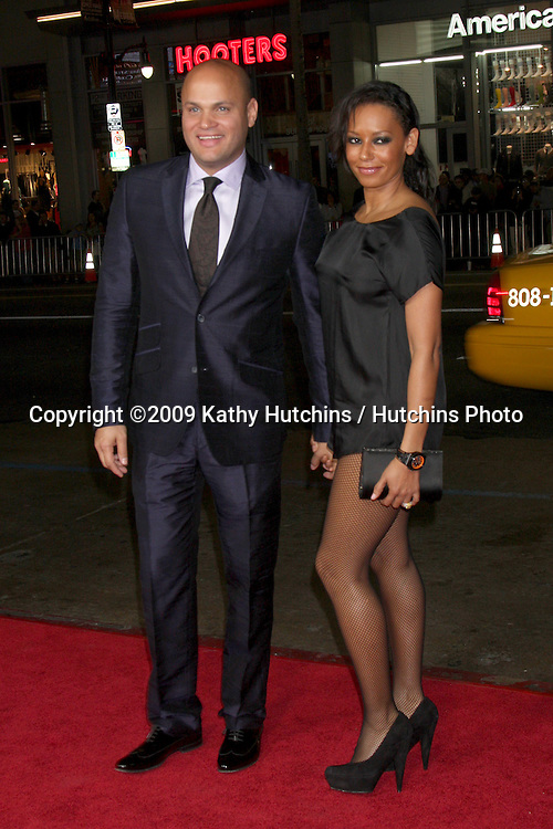 "Stephen Belafonte & Melanie Brown.Bad Lieutenant: Port of Call New Orleans"" AFI Festival Screening.Grauman's Chinese Theater.Hollywood,  CA.November 4, 2009.©2009 Kathy Hutchins / Hutchins Photo."