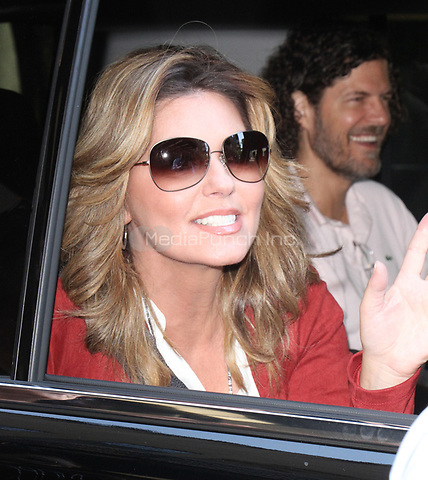 NEW YORK, NY - AUGUST 17: Shania Twain Seen leaving Access Hollywood in New York City on August 17, 2017.Credit: RW/MediaPunch
