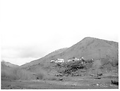 Rico town in distance with Pro Patria Mill ruins in front.<br /> RGS  Rico, CO  Taken by Payne, Andy M. - 5/20/1967