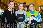 Jeanne Spillane, Derval O'Rourke and Kara Segal at the Health and Wellbeing Evening in the Brandon Hotel, Tralee which was hosted by Lee Strand and the Dairy Council on Thursday, April 6th last.