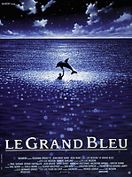 The Big Blue (1988) <br /> (Le grand bleu)<br /> POSTER ART<br /> *Filmstill - Editorial Use Only*<br /> CAP/MFS<br /> Image supplied by Capital Pictures