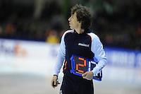 SCHAATSEN: HEERENVEEN: 13-12-2014, IJsstadion Thialf, ISU World Cup Speedskating, Bart Veldkamp (trainer/coach Team Stressless), ©foto Martin de Jong