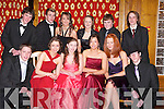 STUDENTS: Students from Gaelcholaiste Chiarrai who enjoyed their debs at The Earl of Desmond Hotel, Tralee, on Thursday night. Front l-r: Joseph Conway, Mairead De Faoite, Anne Marie Murphy, Maire White, Ashling Ni Shiochain and Paul Hogan. Back l-r: Diarmuid McNamara, Rikus O'Connor, Grace Counihan, Cliodhna Murphy, Neil Nolan and Kevin O'Carroll..