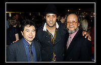 Representatives from Shinko Music in Japan with Rolan Bolan - Born to Boogie VIP Premier - Curzon Cinema, Mayfair, London W1 - 26th April 2005