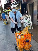 New York, New York City in the time of coronavirus.
