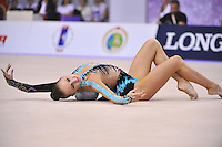 September 23, 2014 - Izmir, Turkey -  MARINA DURUNDA of Azerbaijan performs at 2014 World Championships.