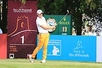 Lorenzo Gagli (ITA) in action during round 3, Ras Al Khaimah Challenge Tour Grand Final played at Al Hamra Golf Club, Ras Al Khaimah, UAE. 02/11/2018<br /> Picture: Golffile | Phil Inglis<br /> <br /> All photo usage must carry mandatory copyright credit (&copy; Golffile | Phil Inglis)