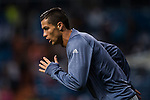 Cristiano Ronaldo of Real Madrid in training prior to the 2016-17 UEFA Champions League match between Real Madrid and Legia Warszawa at the Santiago Bernabeu Stadium on 18 October 2016 in Madrid, Spain. Photo by Diego Gonzalez Souto / Power Sport Images
