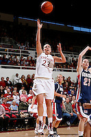 STANFORD, CA - NOVEMBER 29:  Jeanette Pohlen of the Stanford Cardinal during Stanford's 105-74 win over the Gonzaga Bulldogs on November 29, 2009 at Maples Pavilion in Stanford, California.