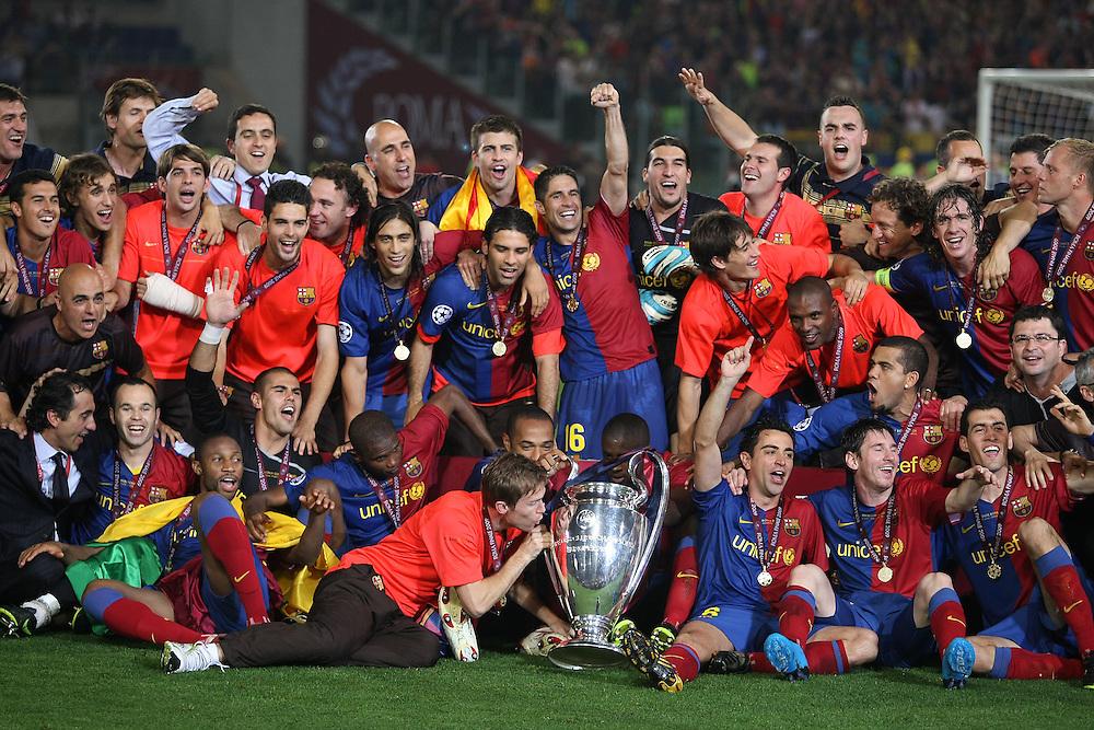 """Resultat d'imatges per a """"final champions 2008-09"""""""