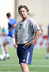 11 July 2009: New England assistant coach Paul Mariner. The New England Revolution played the Kansas City Wizards to a 0-0 tie at Gillette Stadium in Foxboro, Massachusetts in a regular season Major League Soccer game.