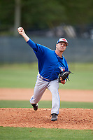 Toronto Blue Jays pitcher Ty Tice (48) during a Minor League Spring Training game against the Philadelphia Phillies on March 30, 2018 at Carpenter Complex in Clearwater, Florida.  (Mike Janes/Four Seam Images)