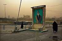 Baghdad, Iraq, October 17, 2002.Near Al Senegh bridge, on the bank of the Tigris river.