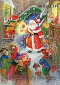 CHRISTMAS SANTA, SNOWMAN, WEIHNACHTSMÄNNER, SCHNEEMÄNNER, PAPÁ NOEL, MUÑECOS DE NIEVE, paintings+++++,KL2178/1V,#X#