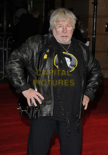 LONDON, ENGLAND - DECEMBER 19: Bill Oddie attends the &quot;The Harry Hill Movie&quot; world film premiere, Vue West End cinema, Leicester Square, on Thursday December 19, 2013 in London, England, UK.<br /> CAP/CAN<br /> &copy;Can Nguyen/Capital Pictures